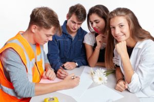 Ateliers Collectifs d'Orientation réunissant des scolaires de troisième, seconde, première et terminale